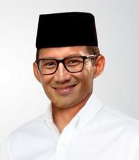 Cawapres 2019 H. Sandiaga Salahuddin Uno, B.B.A., M.B.A.